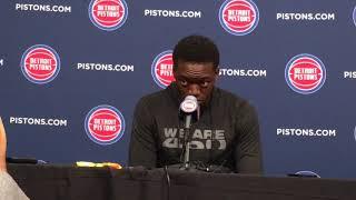 Pistons' Reggie Jackson updates injury and status