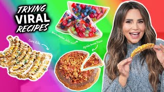 TRYING MORE VIRAL RECIPES - My Favorite Recipe Yet!!?  - Part 7