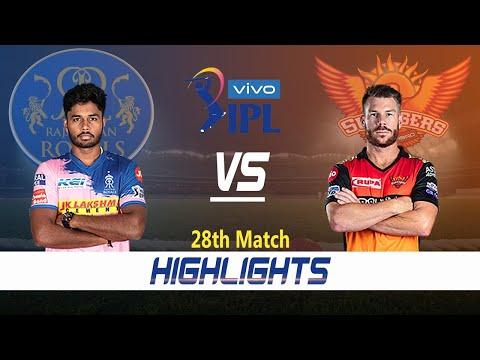 Rajasthan Royals vs Sunrisers Hyderabad Highlights | 28th Match | Indian Premier League 2021