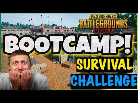 Bootcamp Survival Challenge PUBG Mobile | Live Insaan