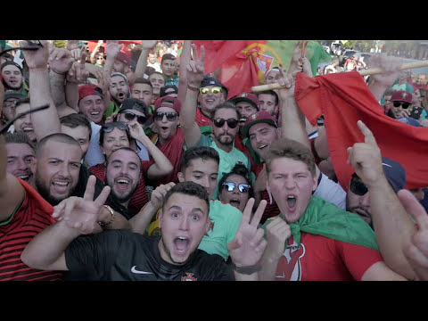 Euro2016 Campeões: Portugal's Glory in Newark (USA)