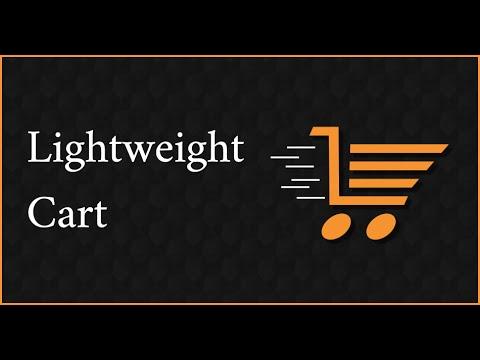 Lightweight Cart | Ecwid Widget | Adobe Muse Ecommerce - YouTube