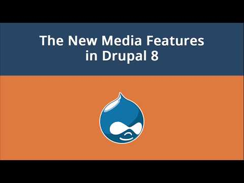 Using The New Media Features in Drupal 8