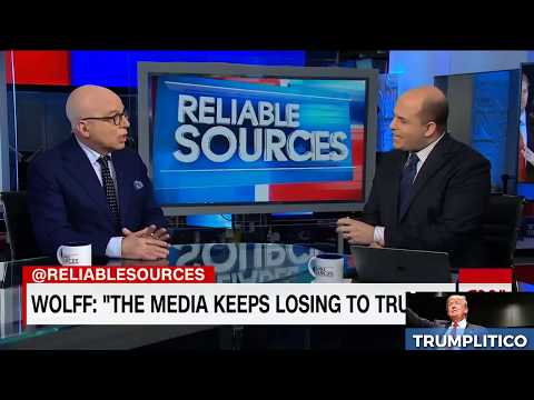 CNN's Brian Stelter owned by Michael Wolff: