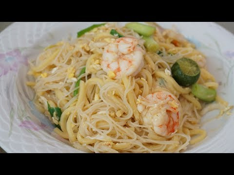 HOKKIEN MEE RECIPE (BEEHOON & MEE) | SINGAPORE