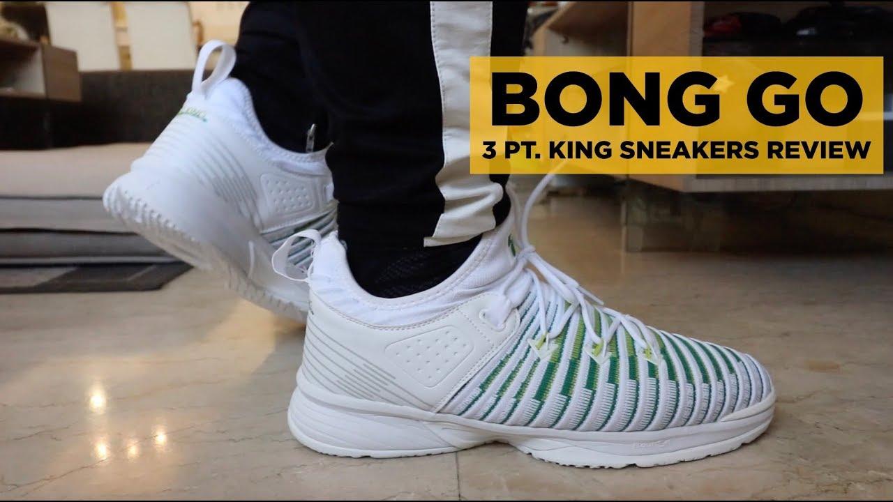 Go Point basket King Unboxing 3 Bong da Sneakers q1zgtU