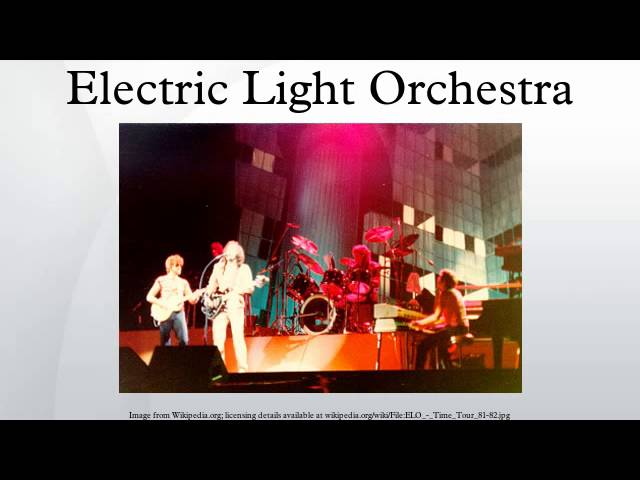 Electric Light Orchestra #1