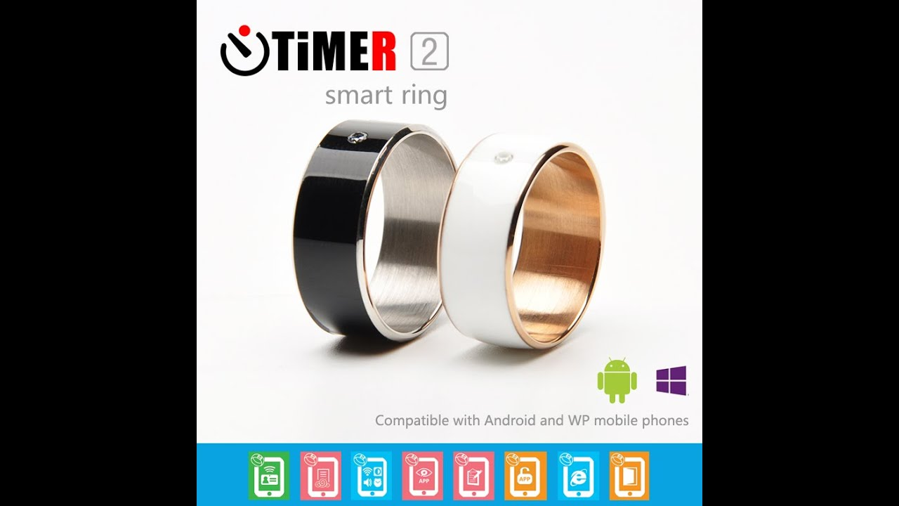 Smart Ring NFC for Smart Phone, Timer 2