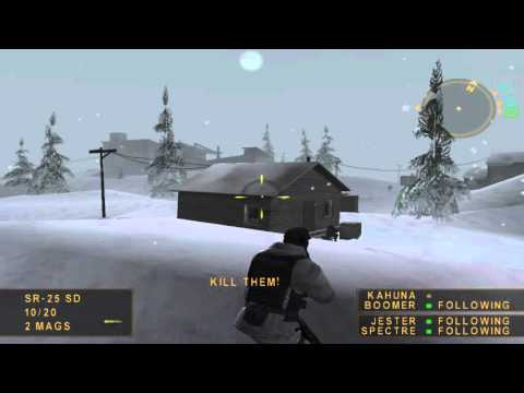 The Original SOCOM On PC Gameplay (Mission 2: Ghost Town)