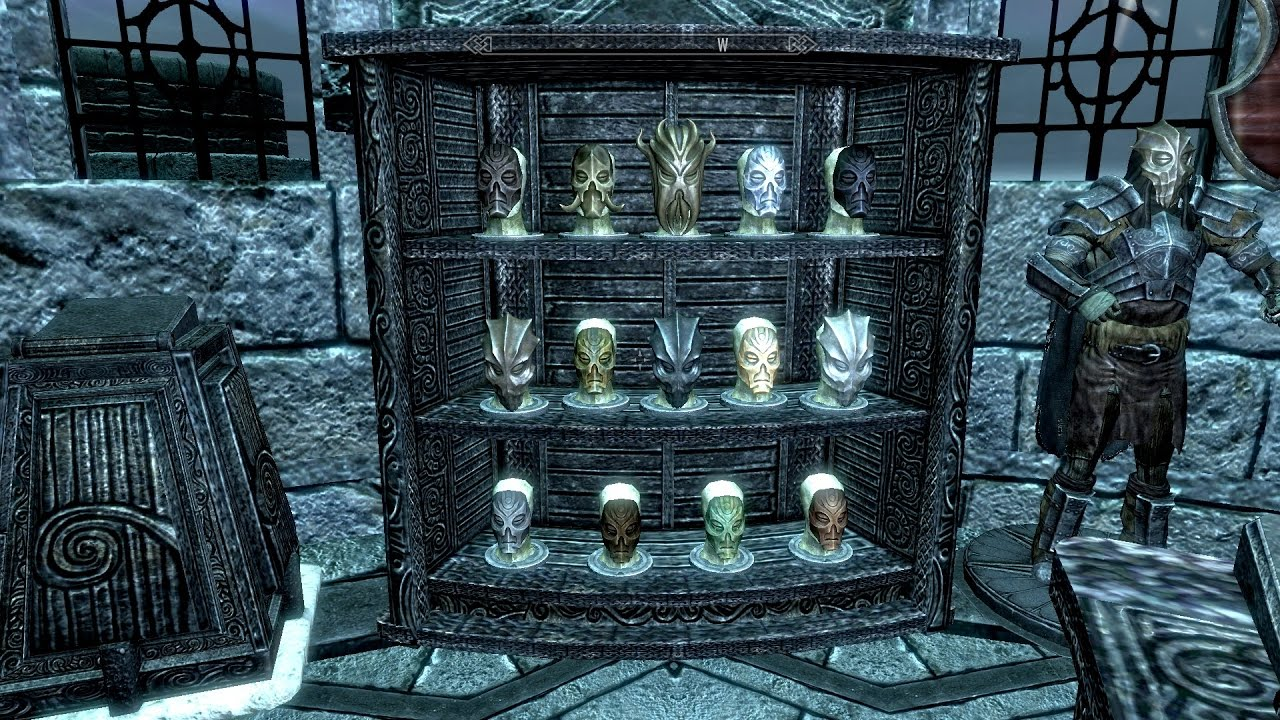 Skyrim Trophy Rooms Mods In Description Youtube
