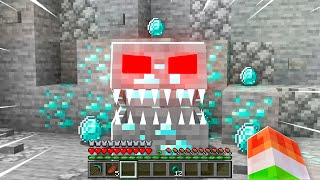 MINECRAFT but ALL BLOCKS attack YOU!