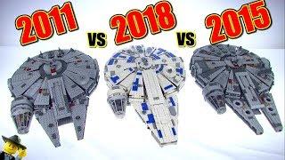 LET THE FALCON BATTLE BEGIN! The Ultimate LEGO Millennium Falcon Comparison