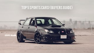 5 Sport CARS You Should Buy