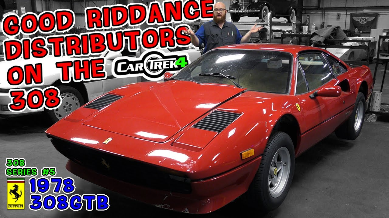 Distributors Deleted! The CAR WIZARD shows how he removed them on his '78 Ferrari 308