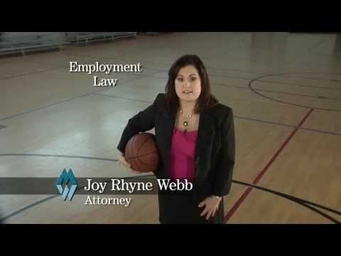 Merritt Webb - Employment Law - Joy Rhyne Webb