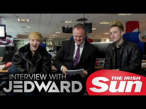 Jedward interview with The Irish Sun