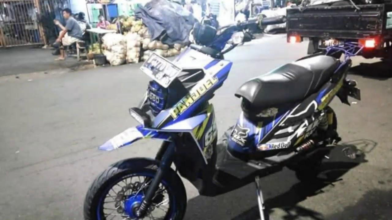 Modifikasi Stiker Motor X Ride
