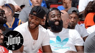 James Harden And Chris Paul Make Debut At Drew League | The Jump | ESPN