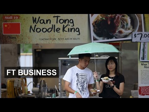 Singapore jobs tilt towards China