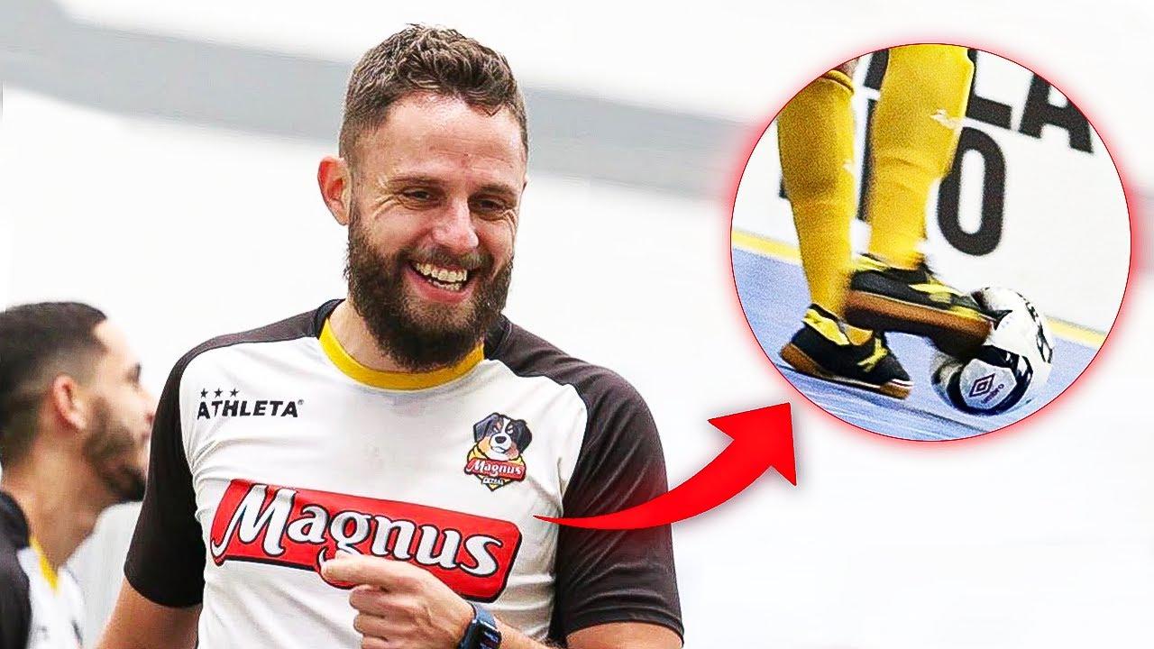 Aprenda a melhorar seu chute com o capitão da Seleção Brasileira
