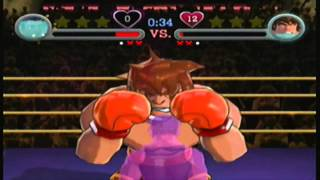 Punch Out - Face to Face (Axel vs Oscar)