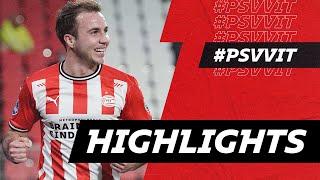 Supersub MARIO GÖTZE ⚽️⚽️ & Great TEAM Goals 🔴⚪️   HIGHLIGHTS PSV - Vitesse