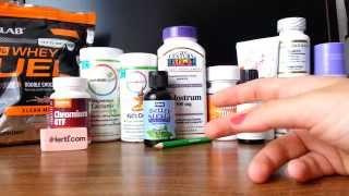 IHerb покупки. Обзор посылки: спортпит., витамины, БАДы. Август 2015.(Посылка с IHerb. Спортивное питание TwinLab. БАДы: хром, кальций с магнием, витамины от Rainbow Light, колострум, коэнзим..., 2015-08-14T12:47:37.000Z)