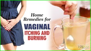Stop Vaginal Itching and Burning with  Home Remedies
