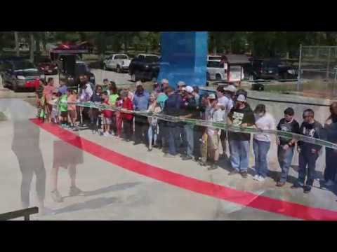 Ribbon Cutting Ceremony For Skate Park In Lufkin Youtube