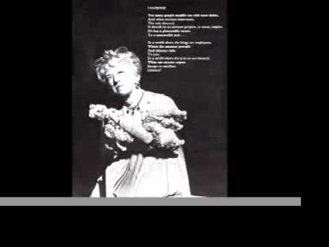 Margaret Hamilton Liaisons Sondheim A Little Night Music  Wizard of Oz