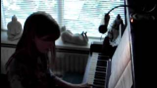 The Whispering Wind on piano