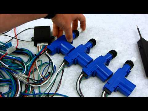 How Central Door Lock Actuators and Relays Work
