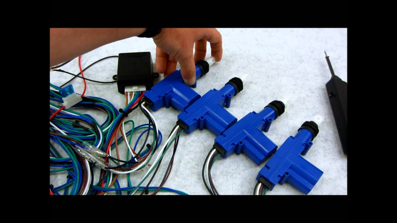 maxresdefault how central door lock actuators and relays work youtube Rotork Actuator Wiring Diagram at edmiracle.co