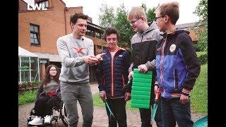 Jubiläumsfilm der LWL-Förderschule Felsenmeerschule mit KiKA-Moderator André Gatzke