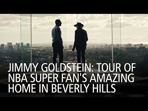 Jimmy Goldstein: Tour Of NBA Super Fan's Amazing Home In Beverly Hills
