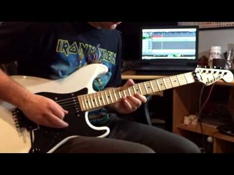 "Iron Maiden - ""Hooks In You"" cover"