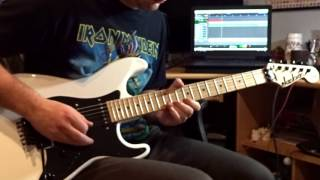 """Iron Maiden - """"Hooks In You"""" cover"""