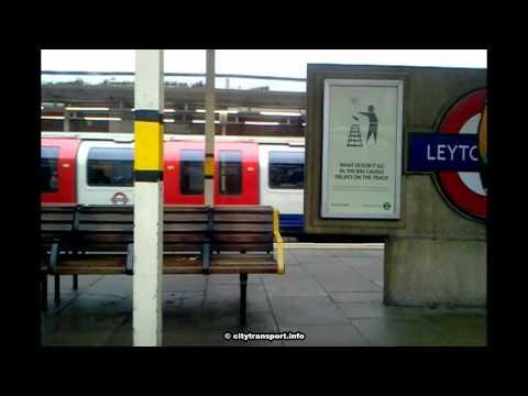 Unusual Arrival @ Leytonstone station.