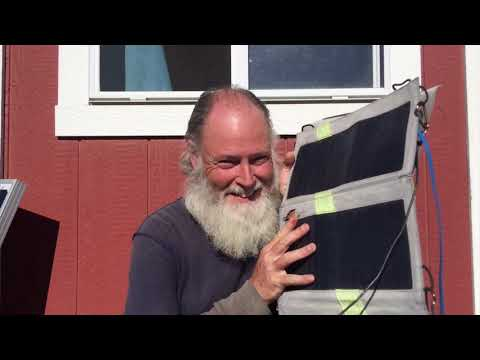 1st shed life portable solar charger look at