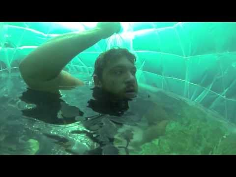 How To Make an Underwater Air Bubble Room -22ft