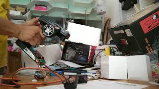 Test 2xGT3B , RC6GS , mini metal servo