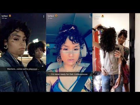Kehlani  Snapchat Story  1 October