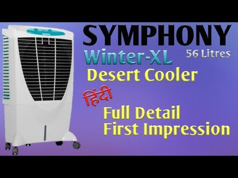 SYMPHONY Air Cooler 'Winter XL' Full Details & First Impression