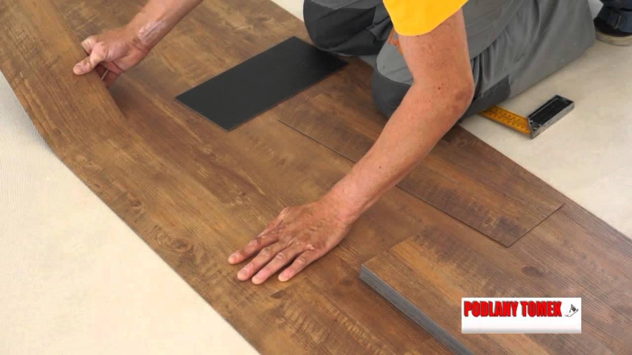Pokládka vinylové podlahy postup