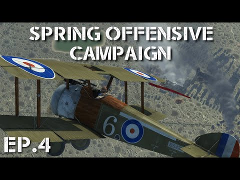 IL-2 Flying Circus || Spring Offensive Campaign || Ep.4