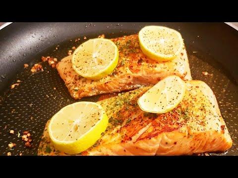 saumon-au-citron-/-salmon-lemon-(-recette-facile-)
