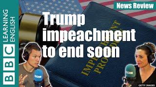 Trump impeachment trial comes to a close: BBC News Review