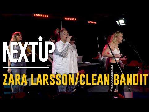 Zara Larsson & Clean Bandit Perform,