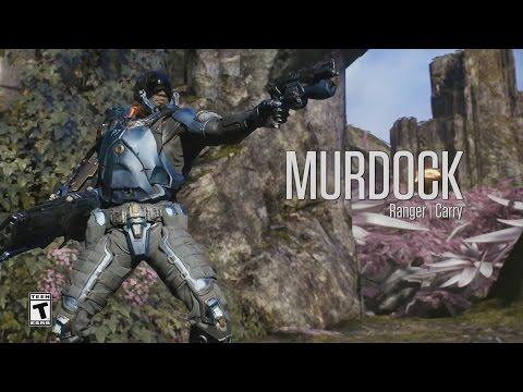 видео: paragon - Минутный Обзор Героя - Мердок (murdock)
