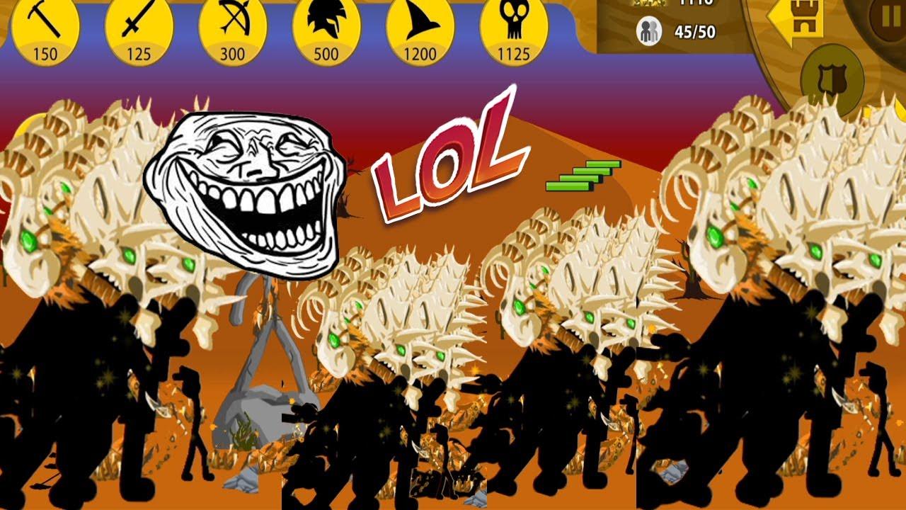 Stick War Legacy Mod 1 TỶ Gem Chỉ Huy Đội Quân Xương Cực Rẻ Cực Mạnh 99999 Top Game Android Ios